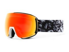 Maschera Snowboard Earth Matrix The One nero rosso