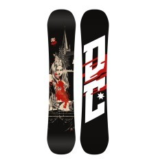 Tavola Snowboard Uomo Media Bliz nero rosso
