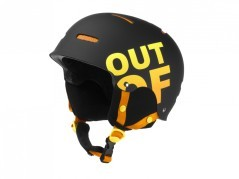 Casco Snowboard WipeOut nero arancio