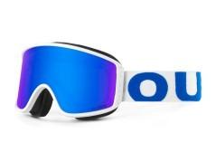 Maschera Snowboard Shift bianco blu