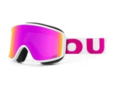 Maschera Snowboard Shift White Pink bianco rosa