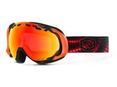Maschera Snowboard Edge Creep nero rosso