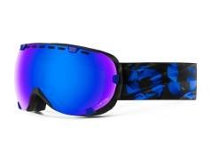Maschera Snowboard Eyes Abyss nero blu
