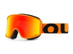 Maschera Snowboard Shift Orange Red arancio rosso