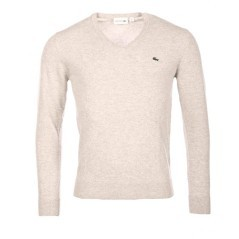 Maglione lana merinos scollo v