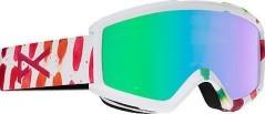 Maschera Snowboard Donna Helix 2.0 + Lente bianco fantasia