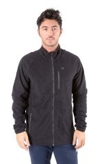 MicroPile Uomo Out Door Polar Full Zip grigio
