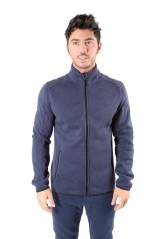 Pile Uomo Polar Fleece 240 Full Zip blu