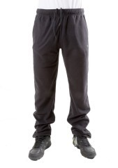 Pantalone Tuta Uomo Out Door Micro Polar nero