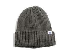 Cappello Beanie Doppiato Con Risvolto grigio