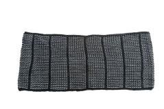 Sciarpa Donna Anello nero grigio