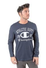 T-Shirt Maniche Lunghe Uomo East 1919 blu
