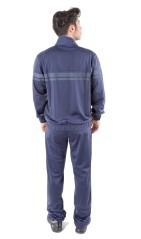Tuta Uomo Track Suit Full Zip blu blu