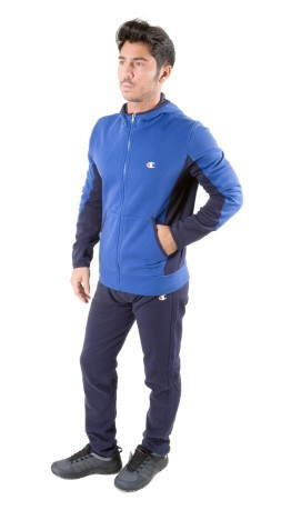 Tuta Uomo Fall Fleece blu variante 1