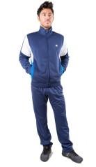 Tuta Uomo Track Suit Full ZIp blu azzurro