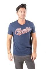 T-Shirt Uomo Varsity grigio