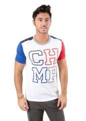 T-Shirt Uomo Varsity bianco