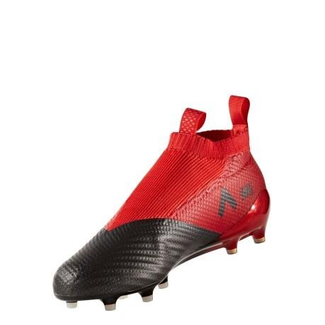 Scarpe Calcio Ace 17 Pure Control FG bianco rosso