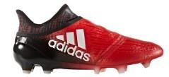Scarpe Calcio X 16+ PureChaos FG rosso nero