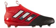 Scarpe Calcio Ace 17+ Pure Control FG bianco rosso