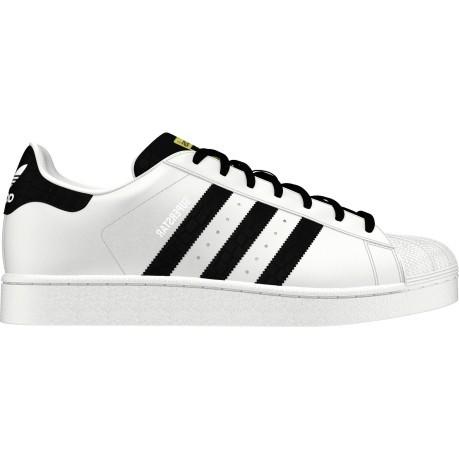 online store 6cfd4 69efa Shoes SuperStar Foundation colore White Black - Adidas Originals -  SportIT.com