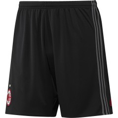Short Calcio AC Milan Home Replica 2016/17 nero