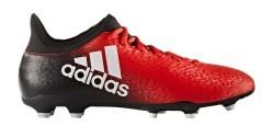 Scarpe calcio Adidas X 16.3 rosse