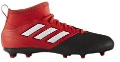 Scarpe Calcio Junior Ace 17.3 FG rosso nero
