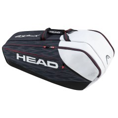 Bag Djokovic 9R SuperCombi white red