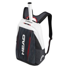 Zaino Djokovic Backpack  bianco rosso