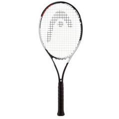 Racket Graphene Speed Touch MP-weiß-rot
