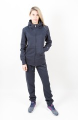 Tuta Donna Ultra Light Heritage Full Zip blu blu