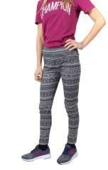 Leggins Donna Winter Prestige fantasia grigio