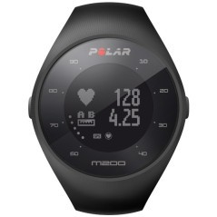 Sportwatch GPS M 200 HR nero