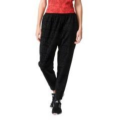 Pantalone Donna BoyFriend nero modella
