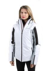 Giacca Sci Donna 1QT Evolution bianco grigio