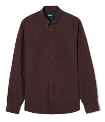 Man shirt GinGhim a Button-Down red