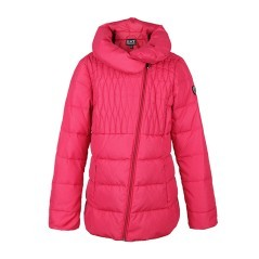 Down jacket girl's Mountain Shiny Down blue