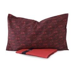 Copripiumino Milan rosso nero