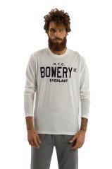 T-Shirt Maniche Lunghe Uomo Light bianco