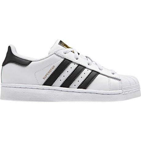 quality design 44063 7e3c8 Junior running shoes SuperStar white black