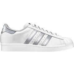 Scarpe Donna SuperStar bianco argento