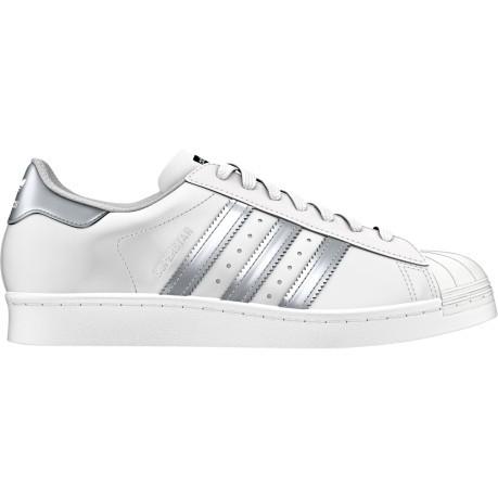 superstar scarpe donna argento