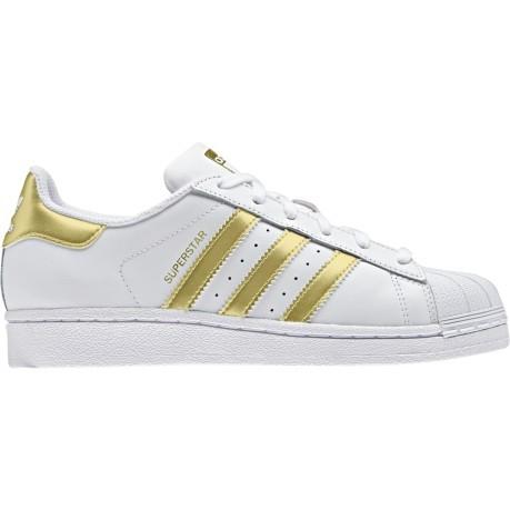 Shoes Junior SuperStar colore White Gold - Adidas Originals ... 2896adc1776