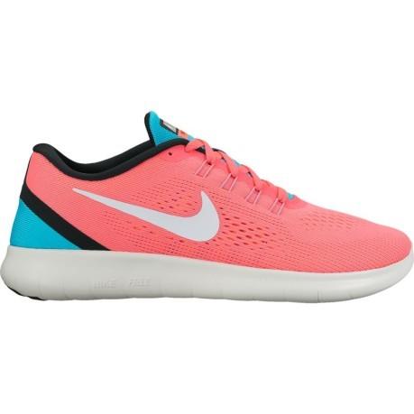 separation shoes ecf08 b4039 Shoes Woman Free Rn pink white