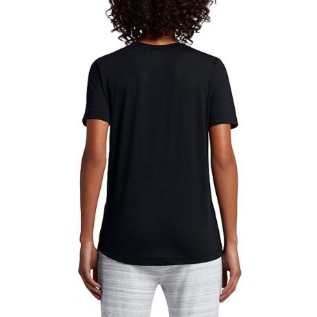 T-Shirt Donna SportsWear Essential nero