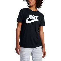 T-Shirt Donna SportsWear Essential nero