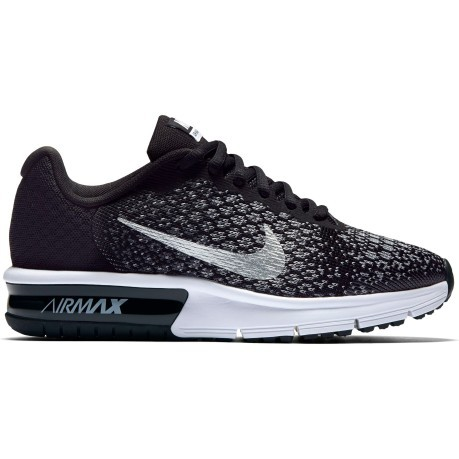 Scarpe Junior Air Max Sequent 2 Gs nero bianco