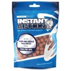 Boilies Liver and Garlic 15 mm