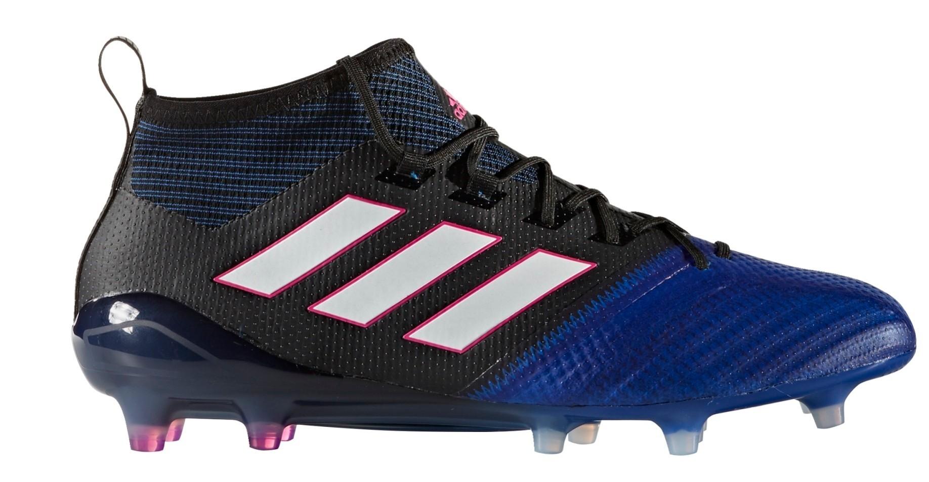 separation shoes 56fcd 9e337 Adidas Football boots Ace 17.1 PrimeKnit FG Blue Blast Pack colore Blue  Light blue - Adidas - SportIT.com